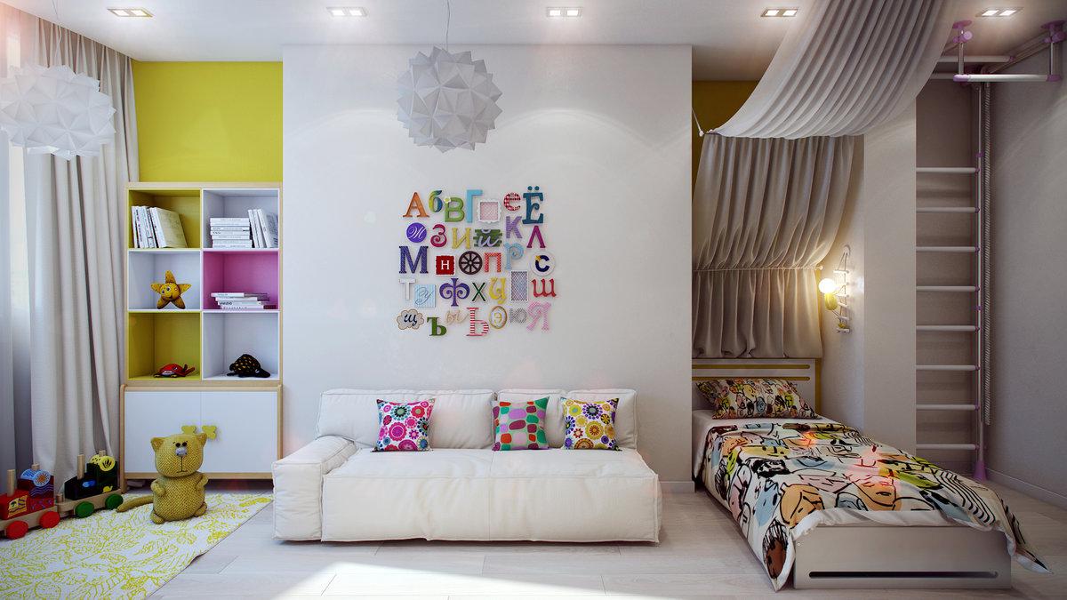 Дизайн маленького зала 2017 современные идеи