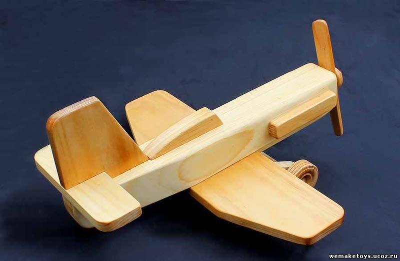 Как сделать деревянный самолеты
