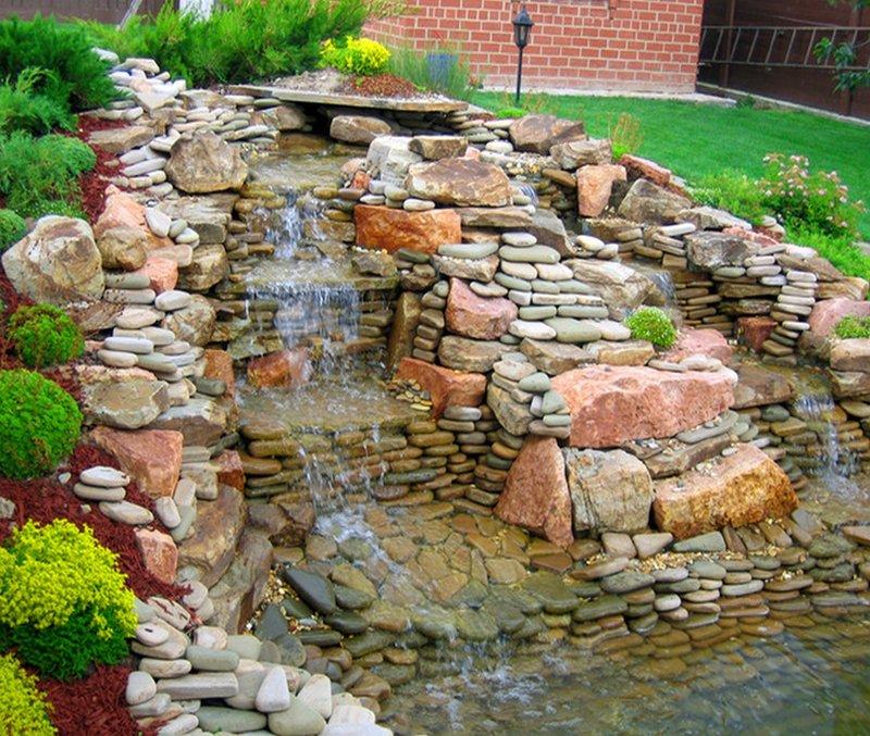 Фото ландшафтный дизайн из камней фото