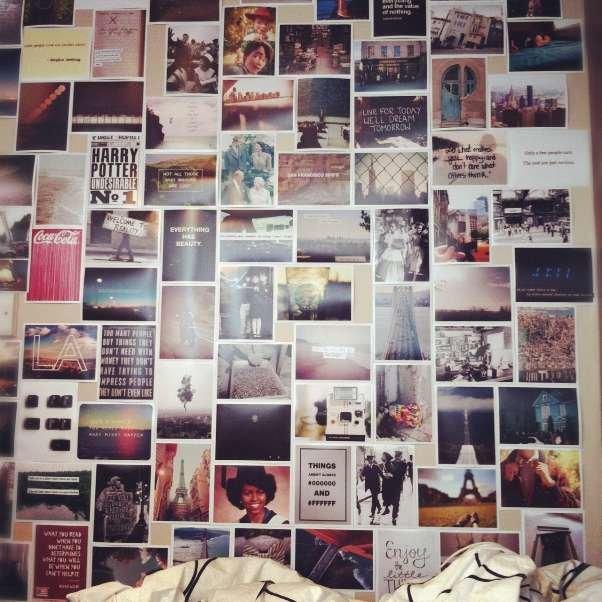 Фотоколлаж своими руками на всю стену фото 100