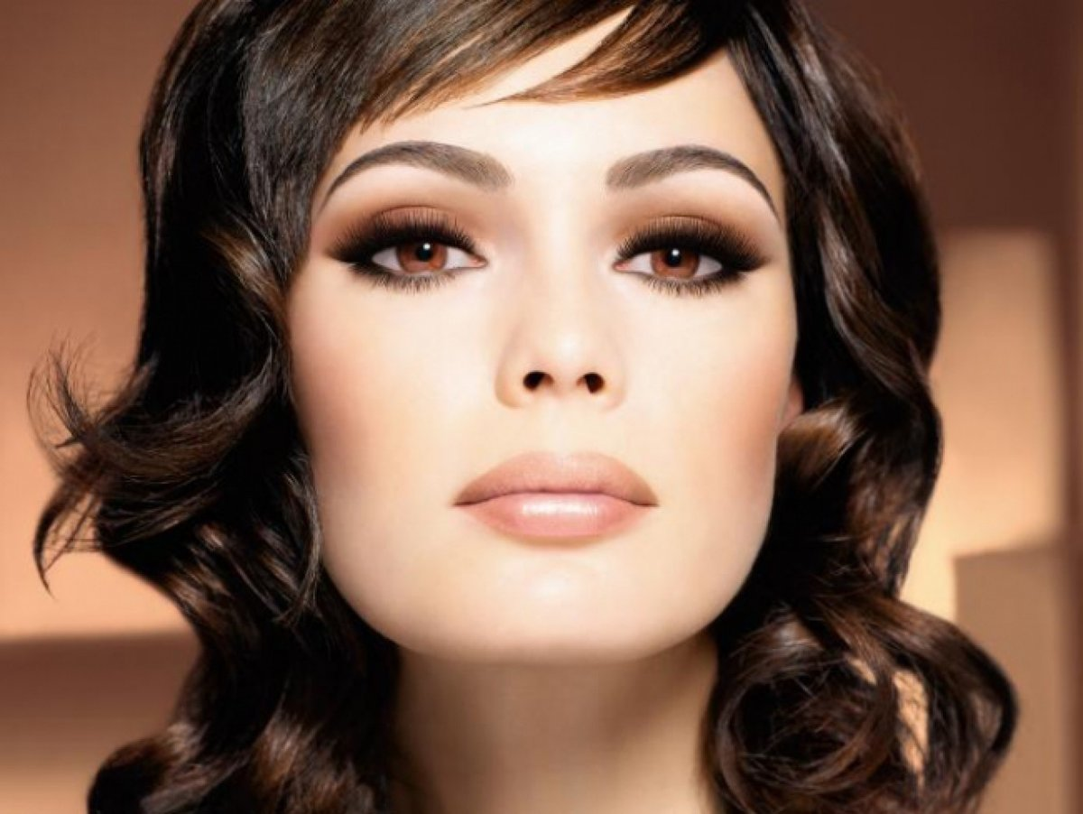 Вечерний макияж фото брюнеткам с карими глазами