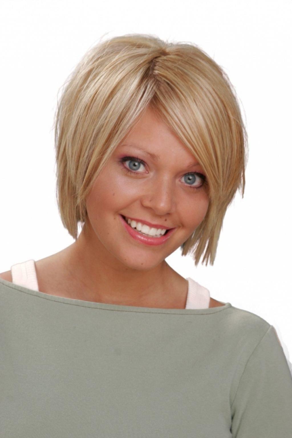 Стрижки на круглое и тонкие волосы лицо
