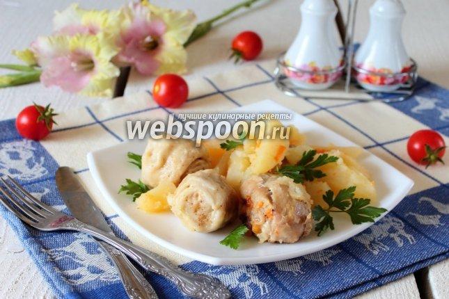 Рецепты штруделя с курицей и картошкой