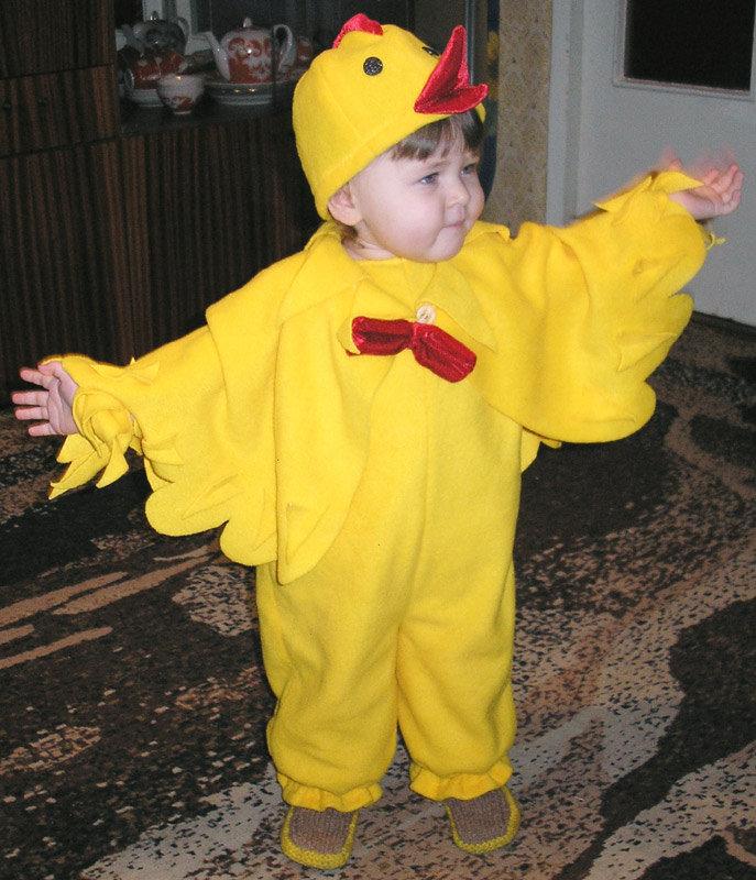 Сшить костюм цыпленка для девочки фото