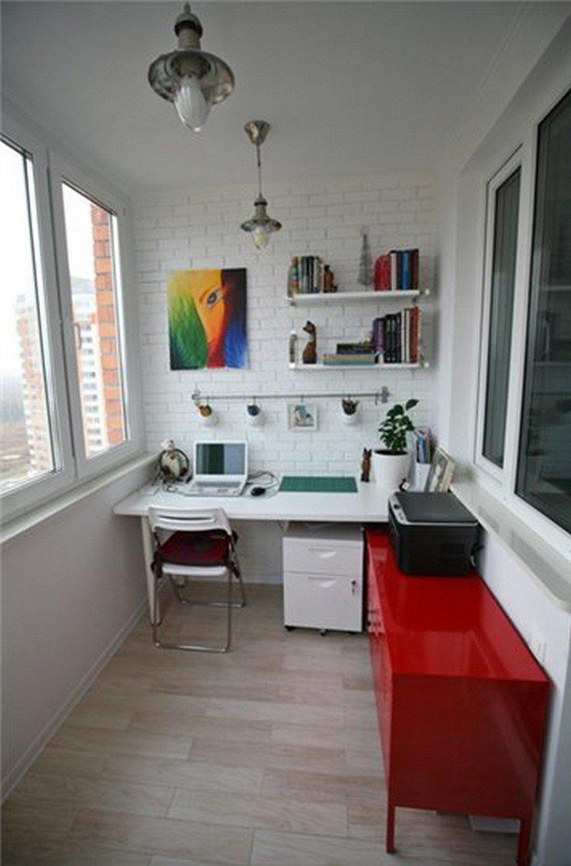 Как разместить кухню на лоджии или переделать лоджию в комна.