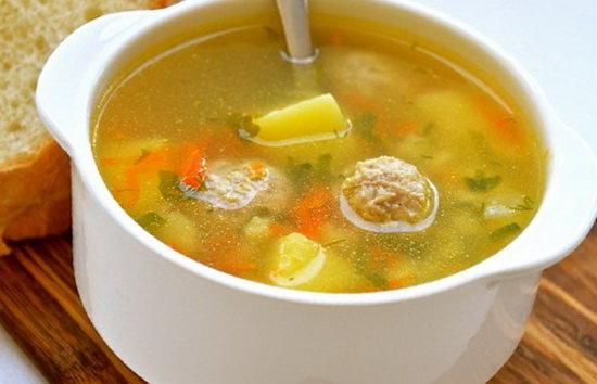 Вкусный суп с фрикадельками в мультиварке рецепт с фото
