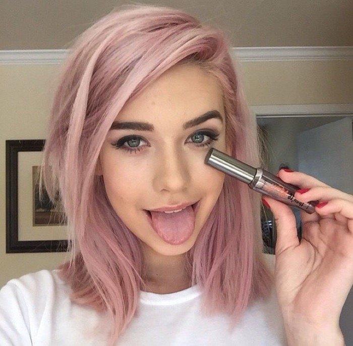 Как сделать себе розовые волосы