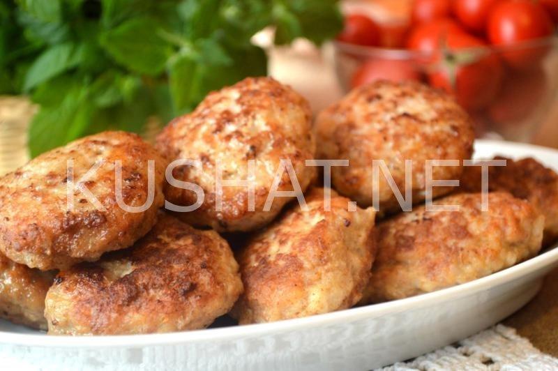 котлеты из свинины сочные рецепт с фото пошагово
