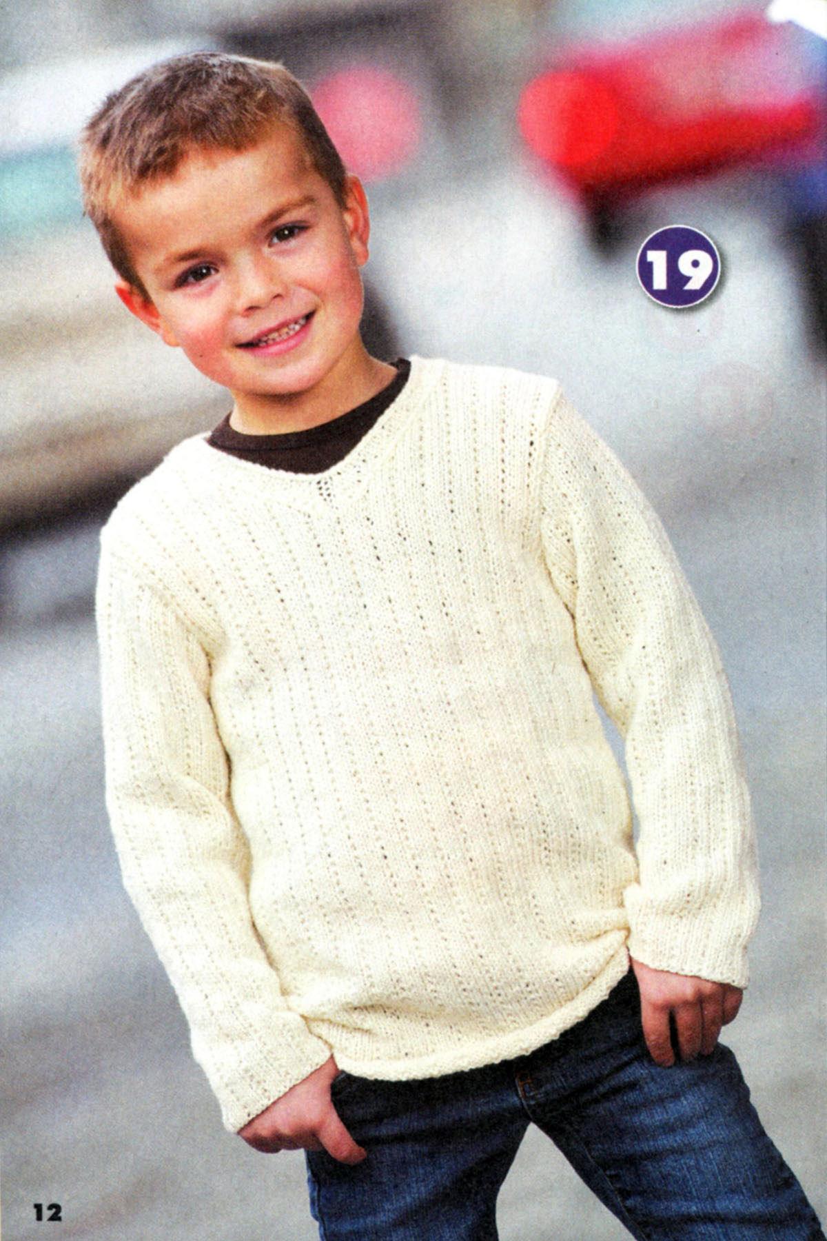 Вязание для мальчика подростка свитера 41