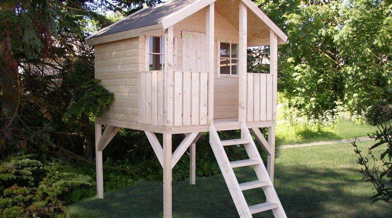Как построить детский домик на даче своими руками фото 123