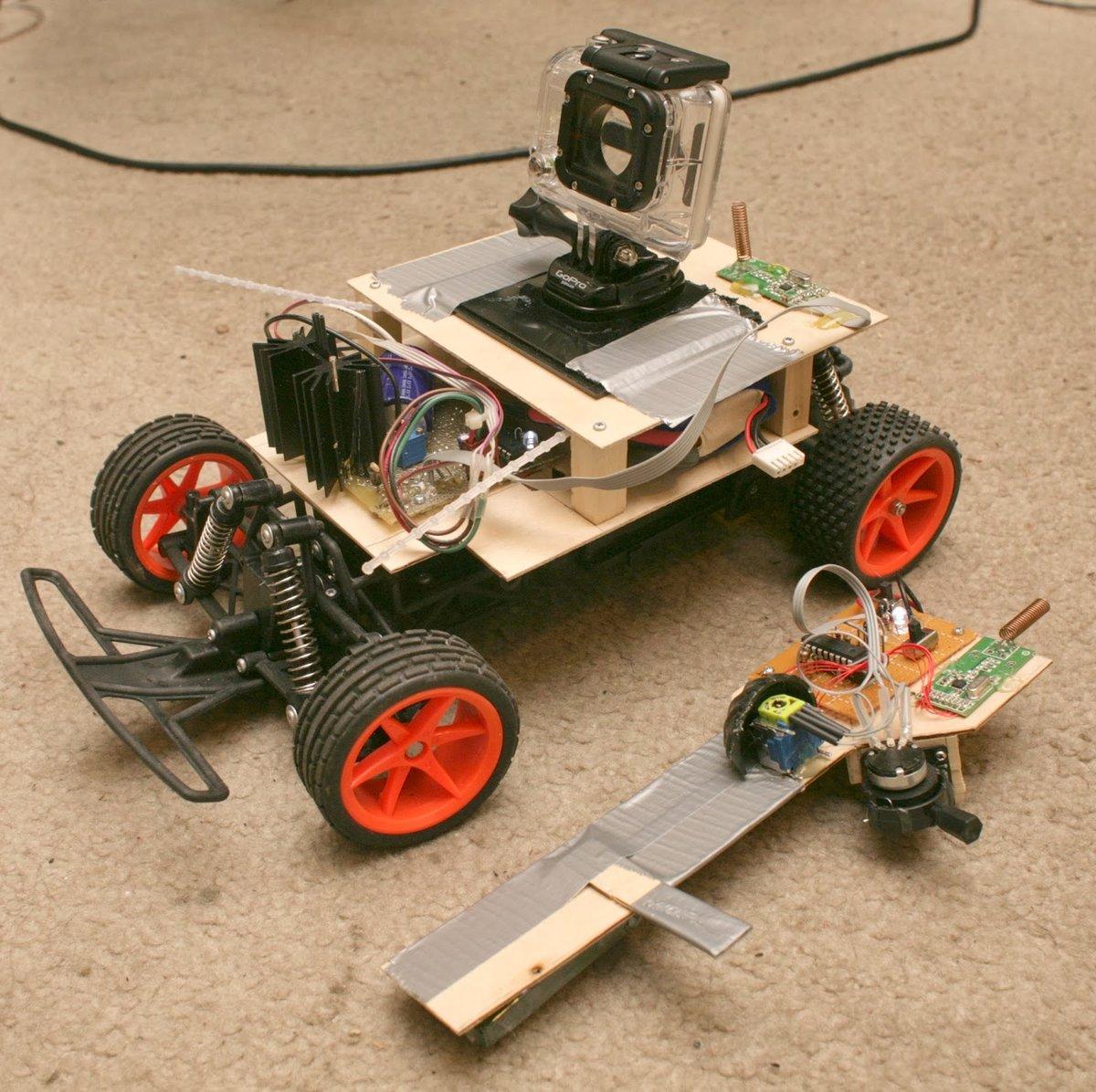Радиоуправляемая машинка своими руками: rikosha 24