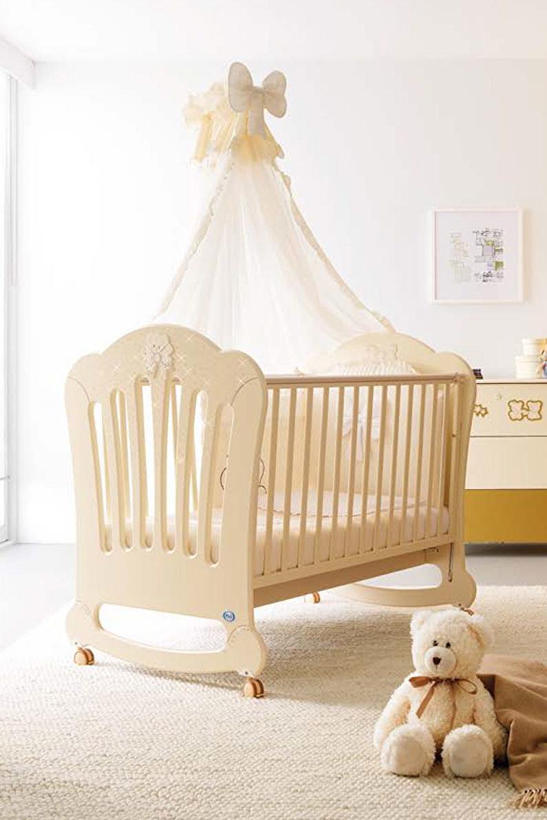 Кроватка с балдахином для новорожденного своими руками 47
