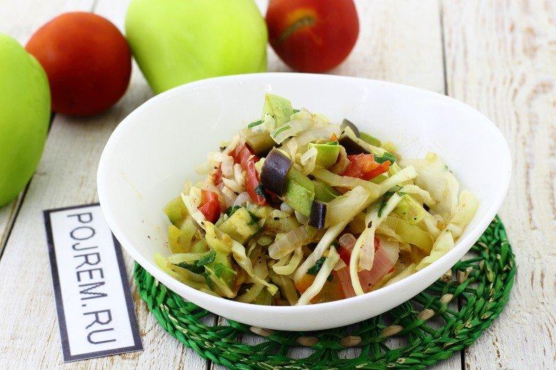 Тушеные овощи в домашних условиях 110