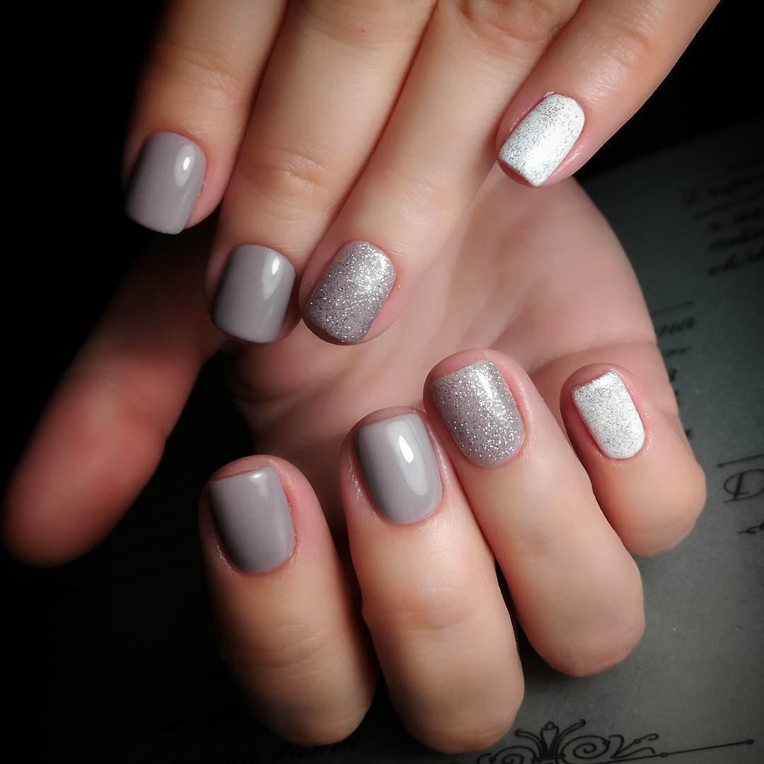 Ногти С Камушками Дизайн Фото
