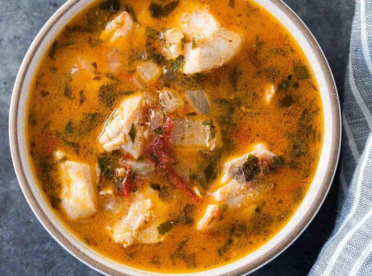 Суп с консервированным тунцом рецепт