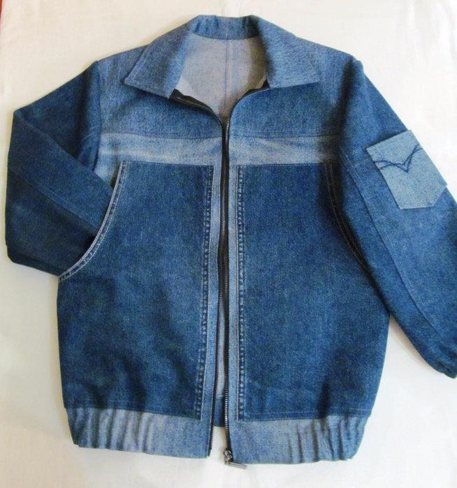 Куртка своими руками из старых джинсов своими руками