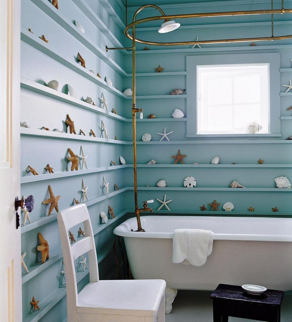 Как украсить ванную комнату своими руками (39 фото идеи) 22