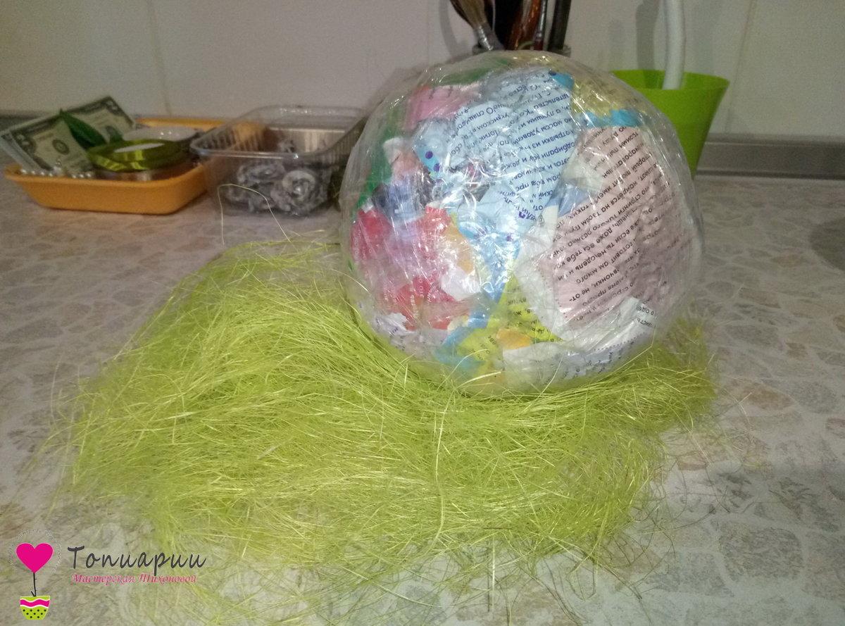 Как сделать шар для топиарий своими