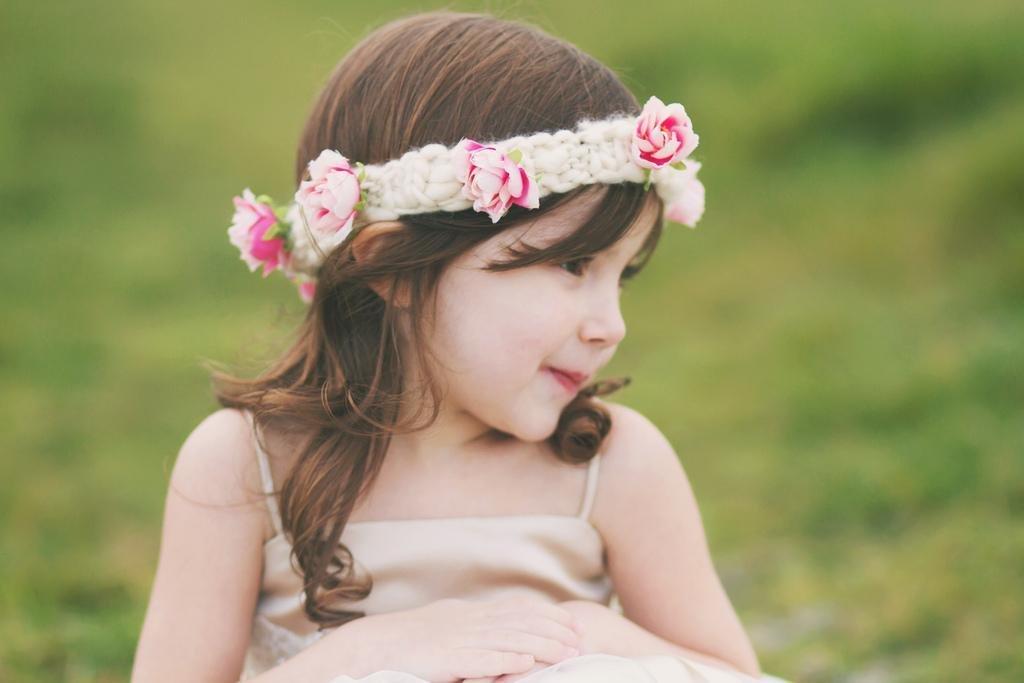 Повязки на голову с цветами для девочки своими руками 689