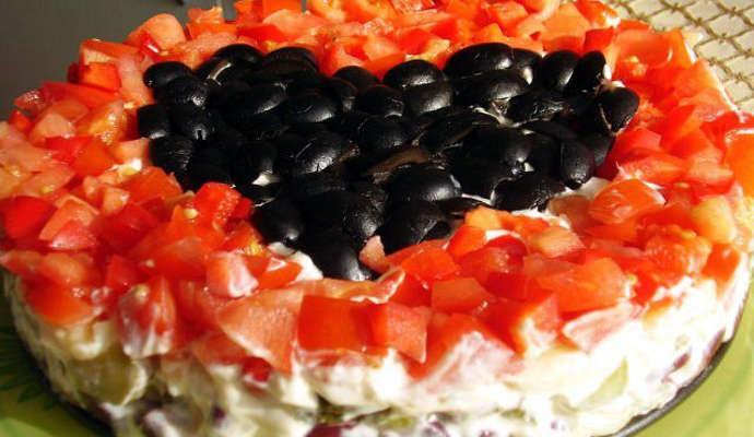 Рецепт салата коварство и любовь