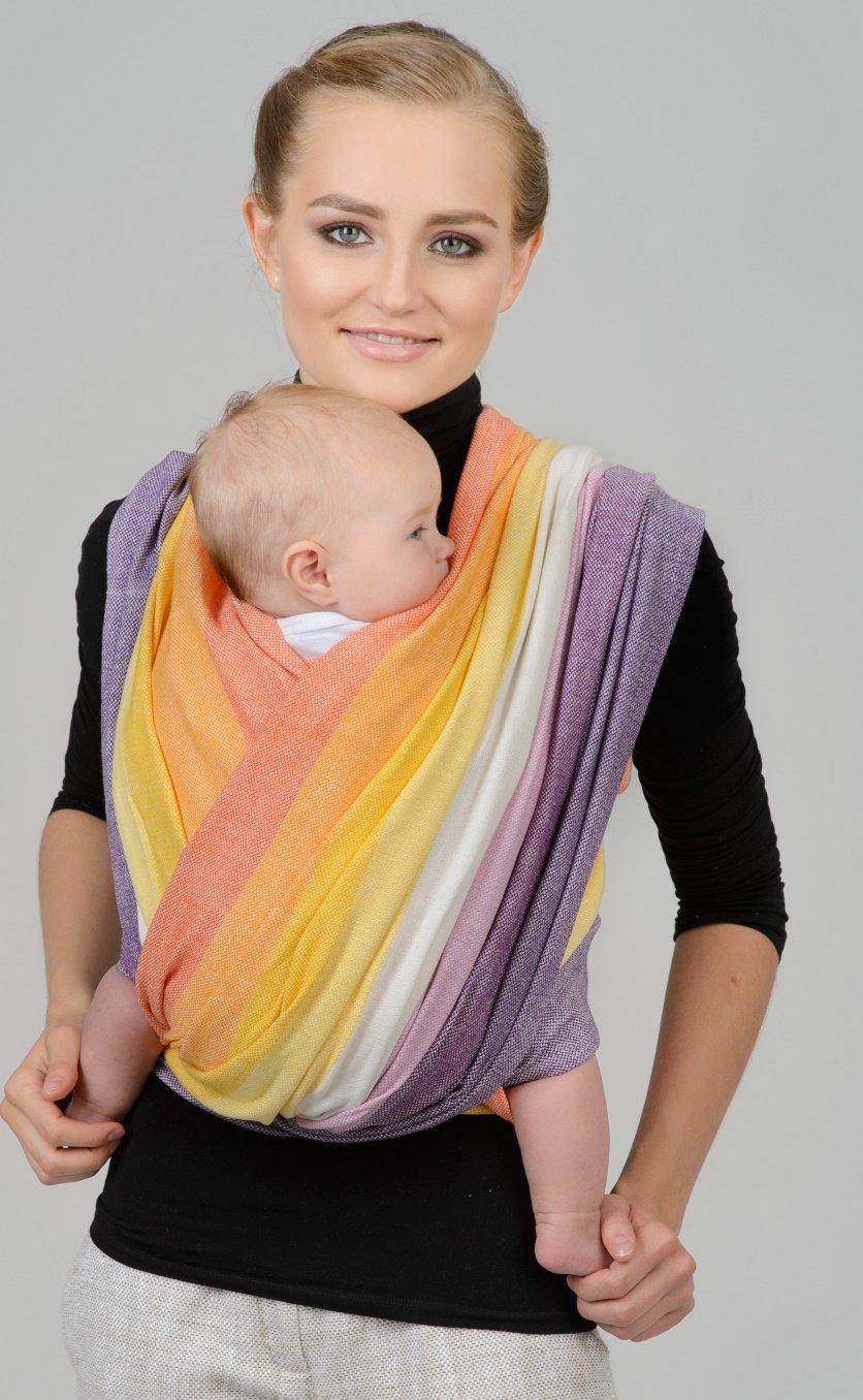 Слингошарф своими руками для новорожденных