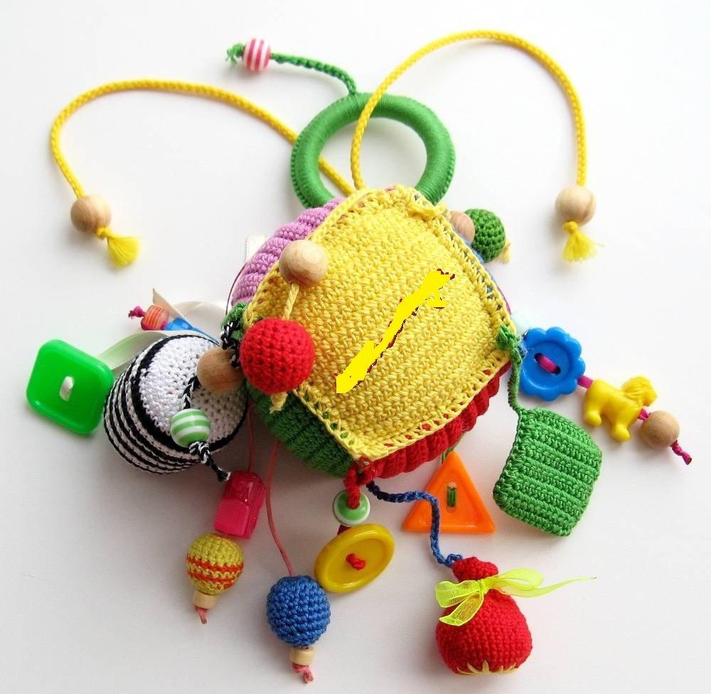 Развивающие вязаные игрушки своими руками схемы 17