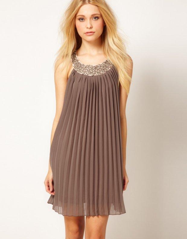 Платье из ткани плиссе сшить 73