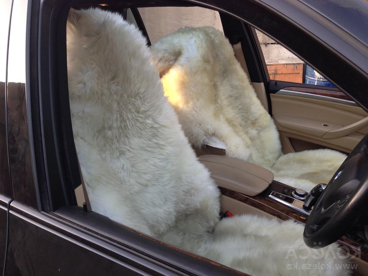 Меховые накидки на автомобильные сидения своими руками