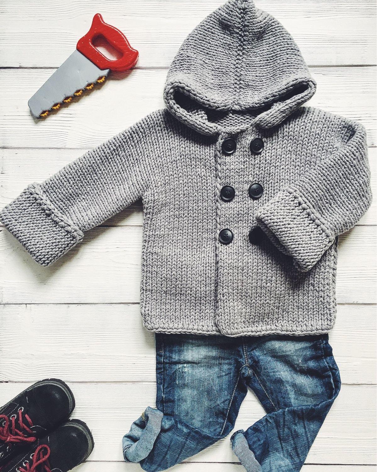 Пальто Вязание спицами, крючком, уроки вязания 78