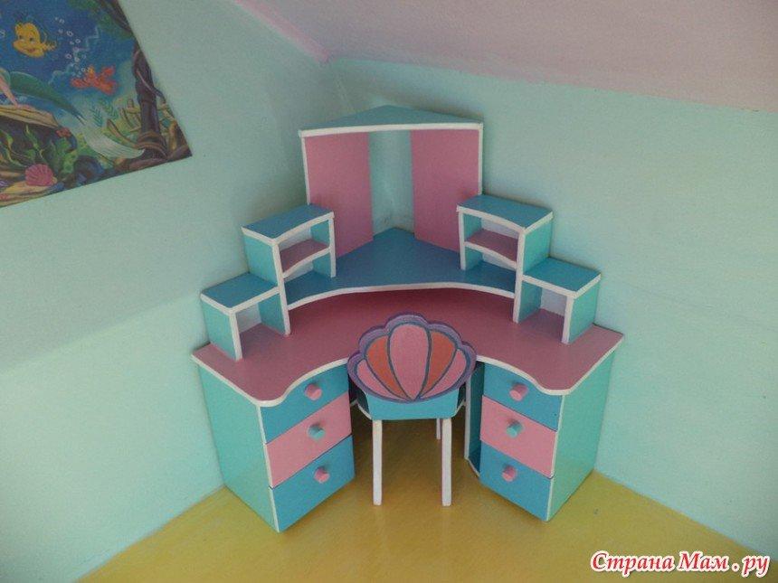 Мебель в детскую своими руками из фанеры 52