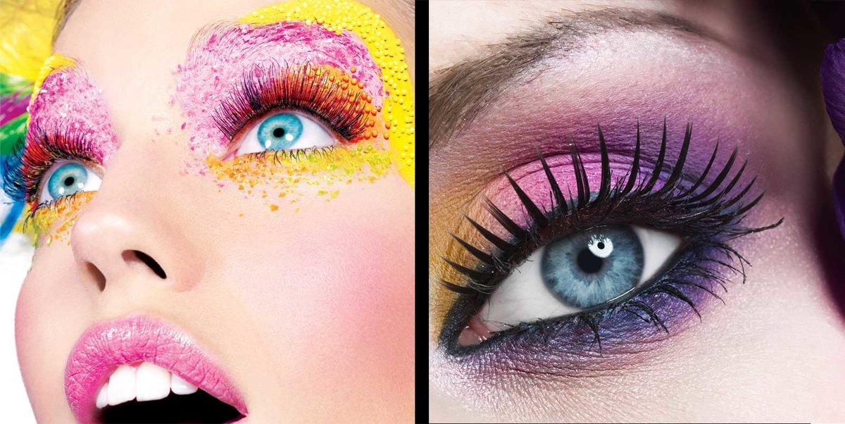 Как сделать в макияже яркие глаза 82