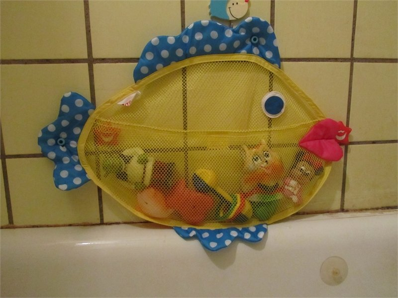 Для игрушек в ванную своими руками 144
