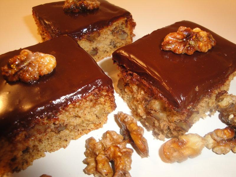 Шоколадный пирог с глазурью рецепт