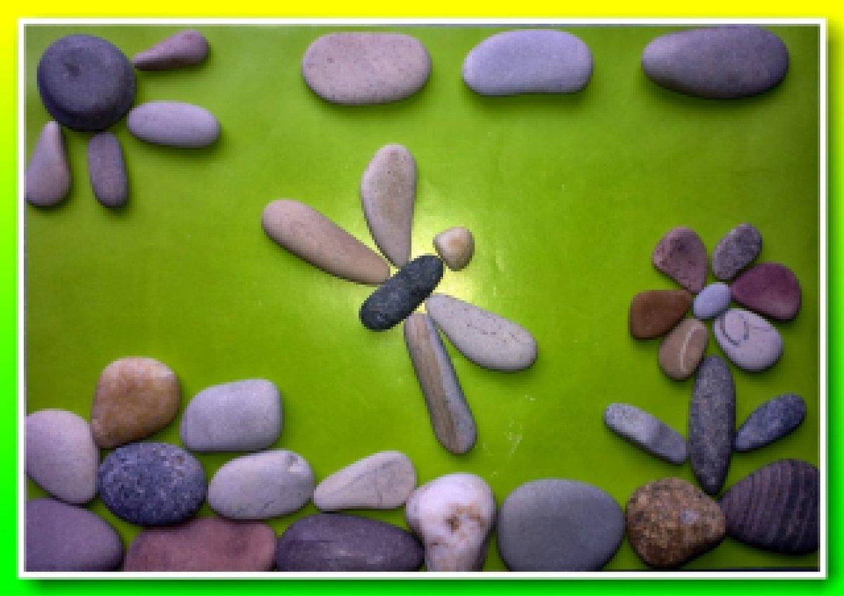 Для детей поделки из камня