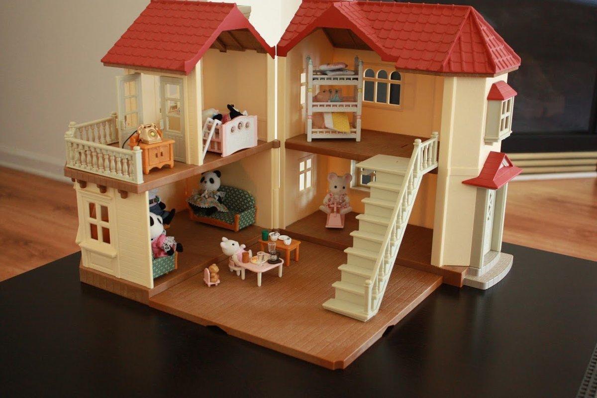 Дом для кукол своими руками из чего что есть дома