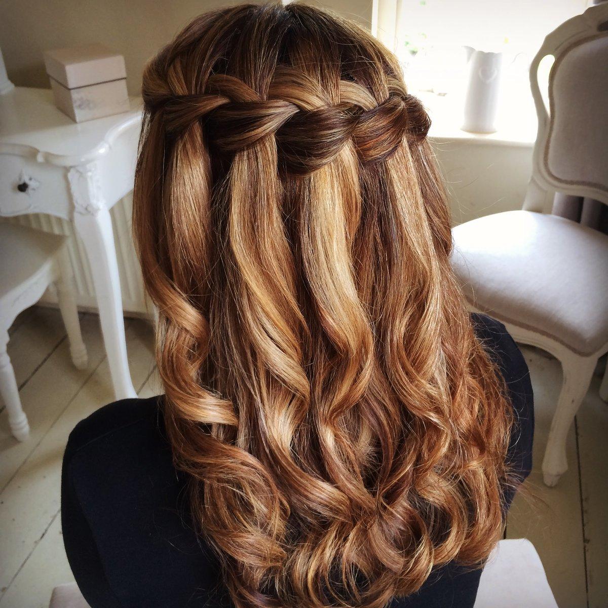 Прически на длинные волосы с плетением и локонами фото