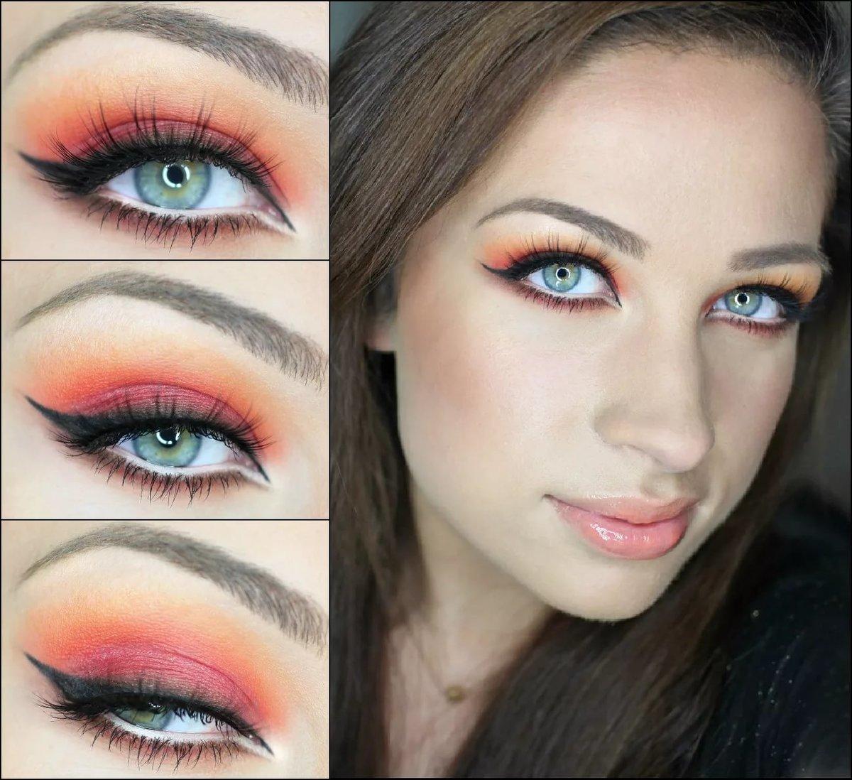 Как сделать яркий макияж