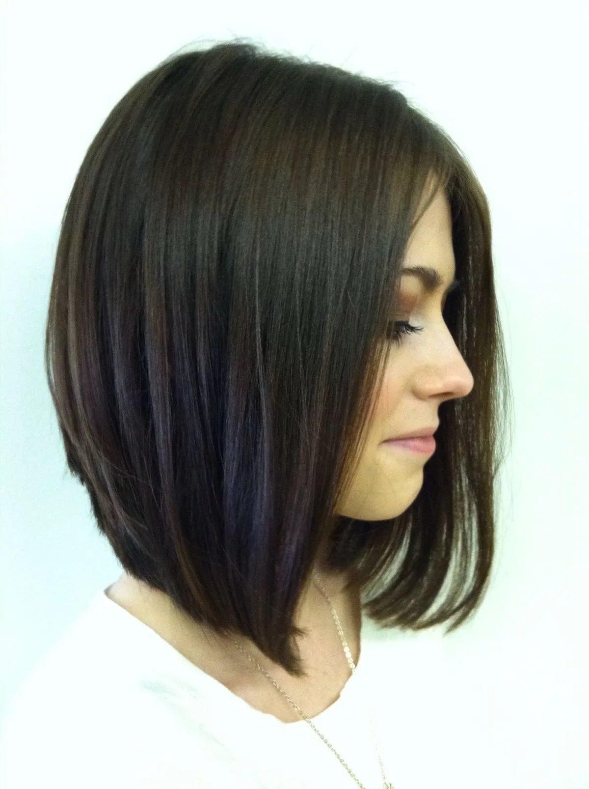 Прически на удлиненное каре волосы фото