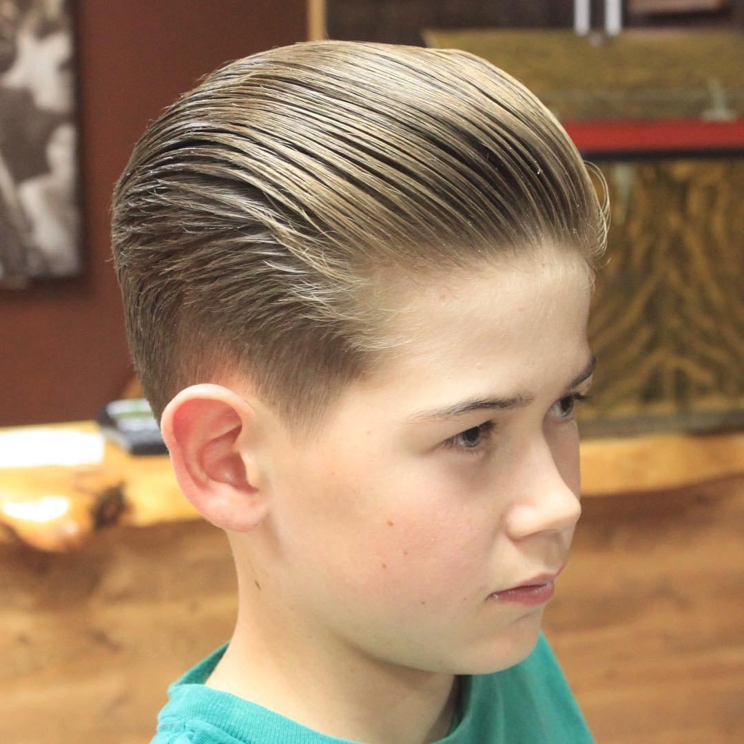 Фото причёсок в школу для мальчиков