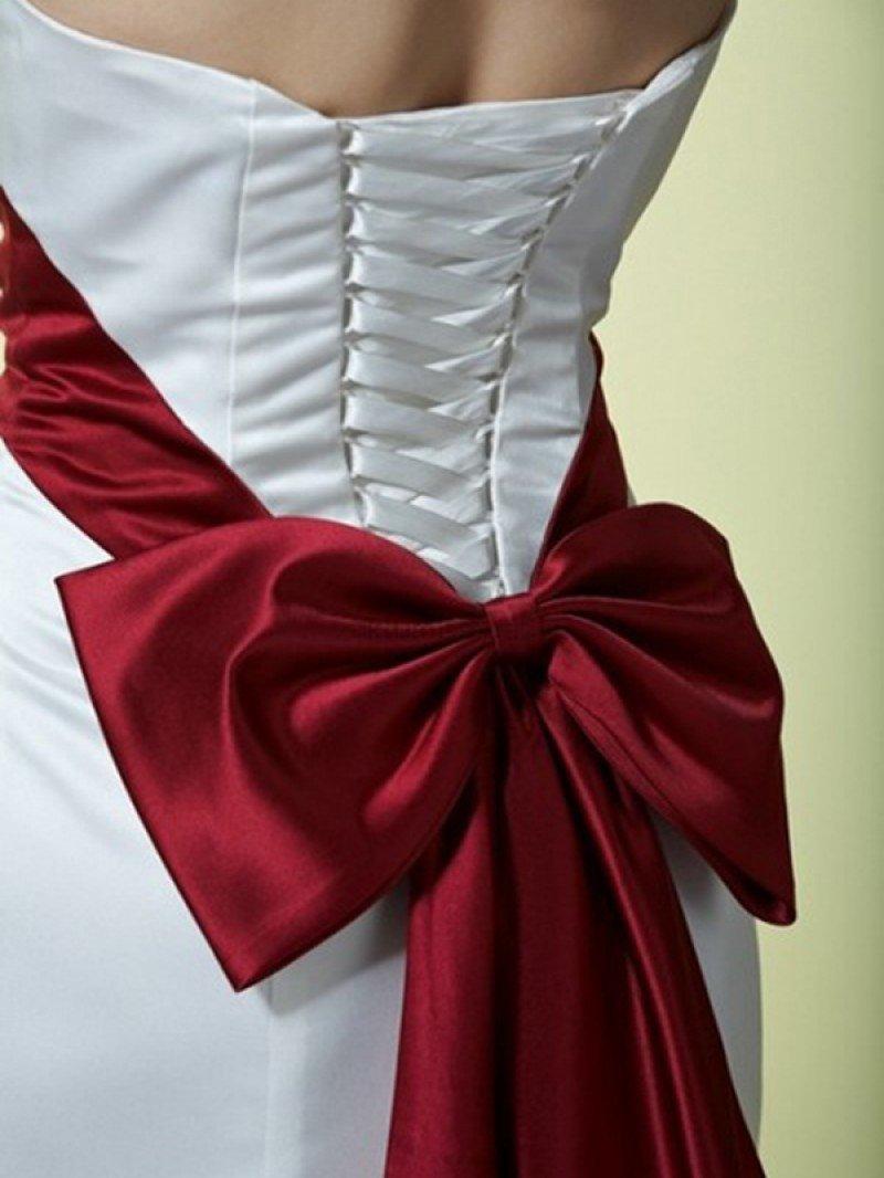 Как сделать атласный пояс для платья своими  798