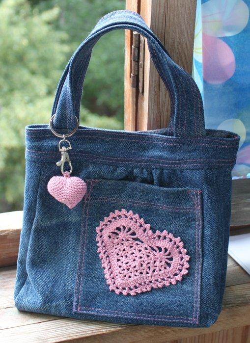 Сумочка для девочки своими руками из старой сумки
