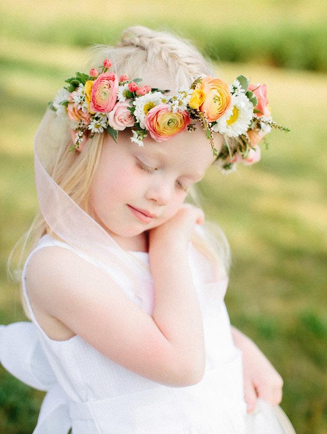 Повязки на голову с цветами для девочки своими руками 256