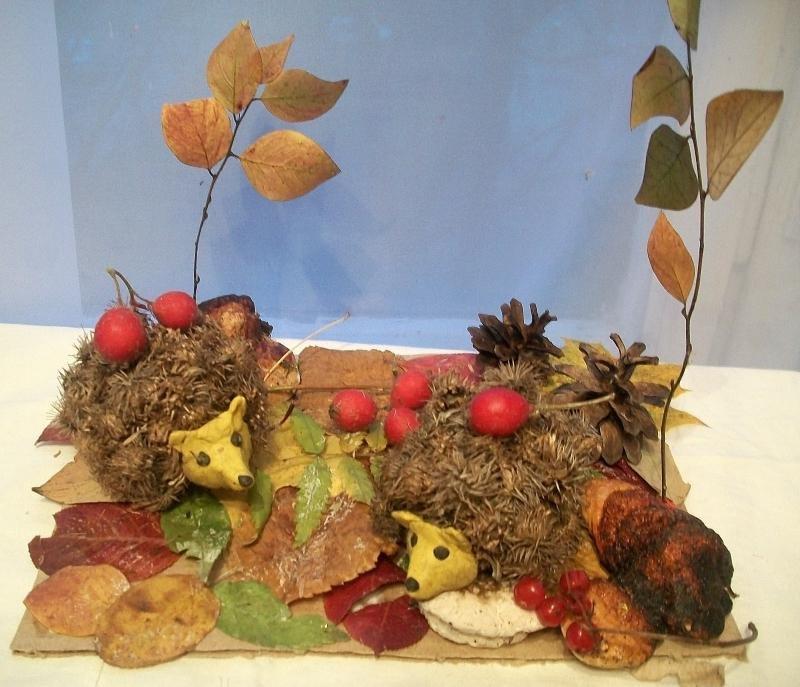 Как сделать поделку осень для 2 класса
