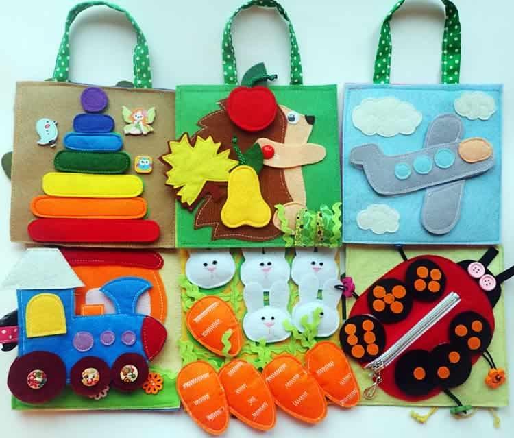 Развивающие игрушки своими руками для детей 4-5 лет фото 28