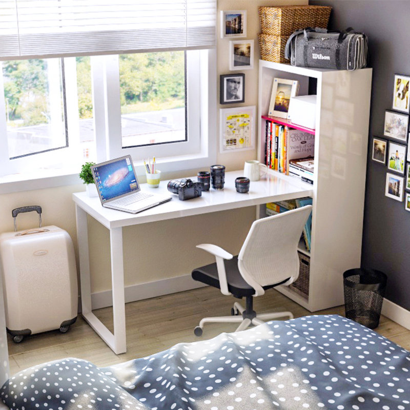 Лабрадорам, особенности письменный стол для студента фото вычислить количество секций