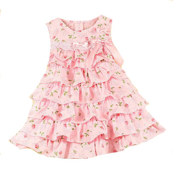 Детское платье с воланами как сшить 81
