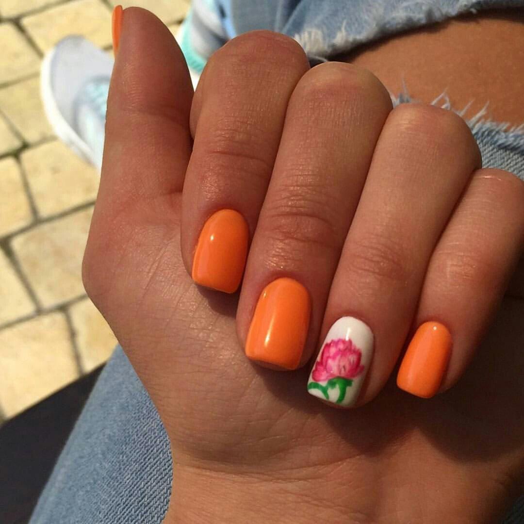 Ногти не яркие дизайн фото