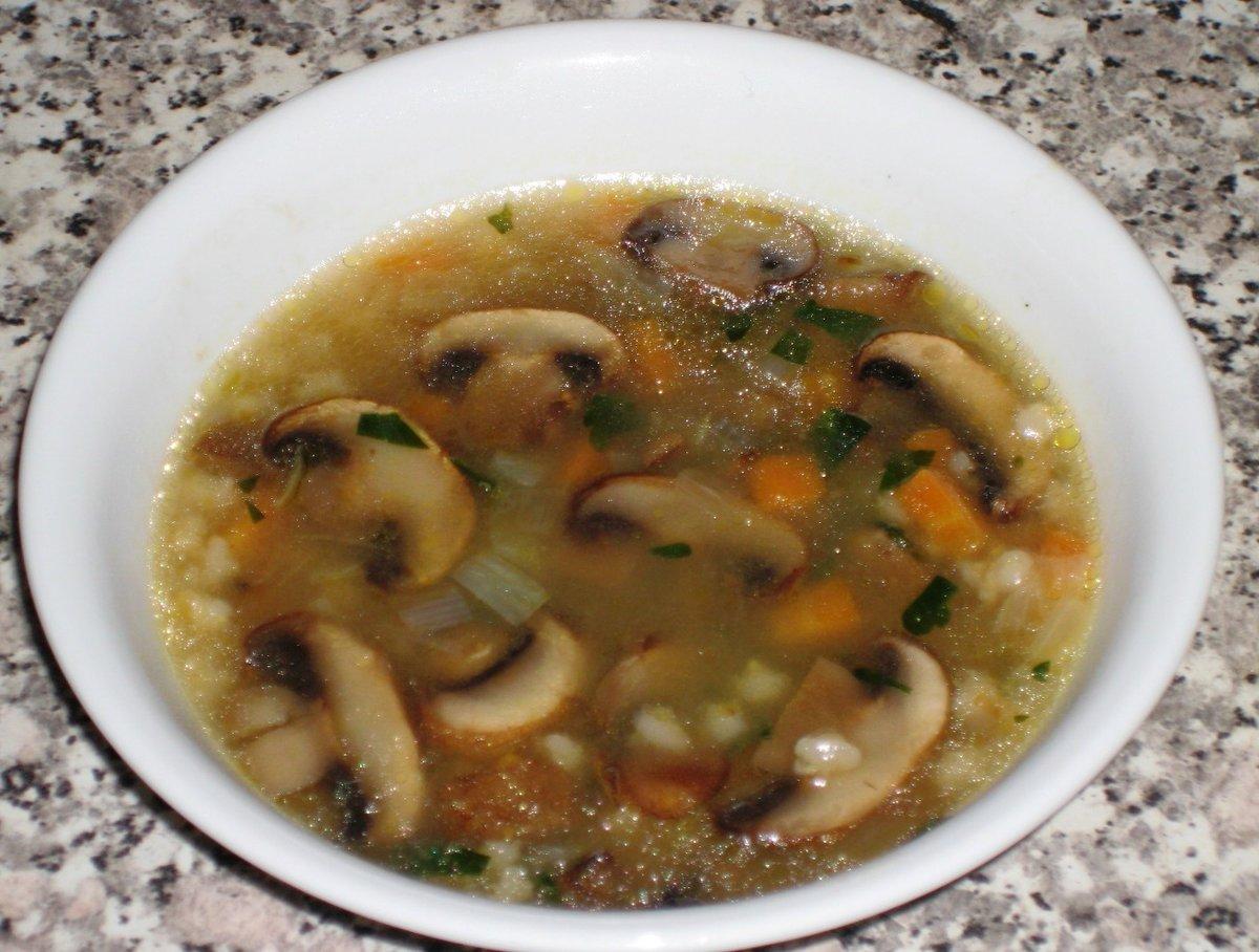 Суп с грибами солеными рецепт