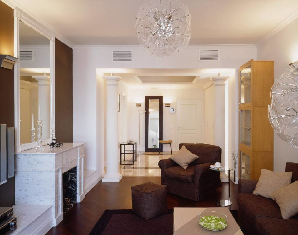 Дизайн зала в квартире 18 кв.м реальный дизайн
