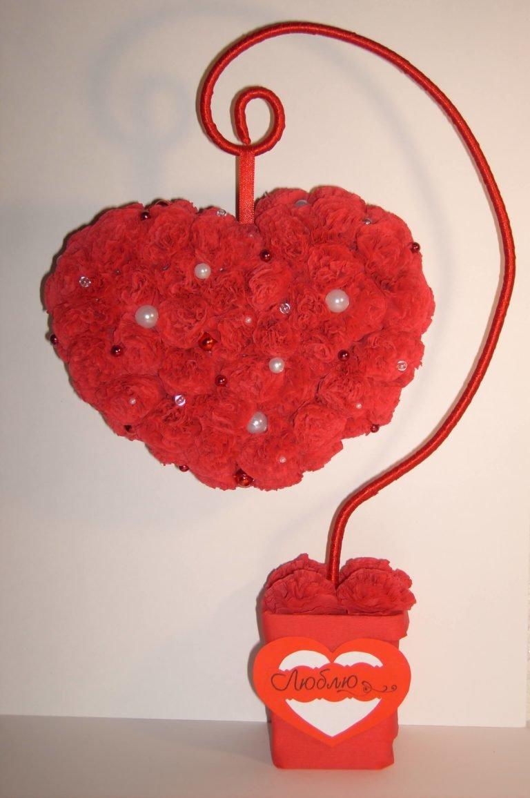 Цветы ко дню валентина своими руками 738